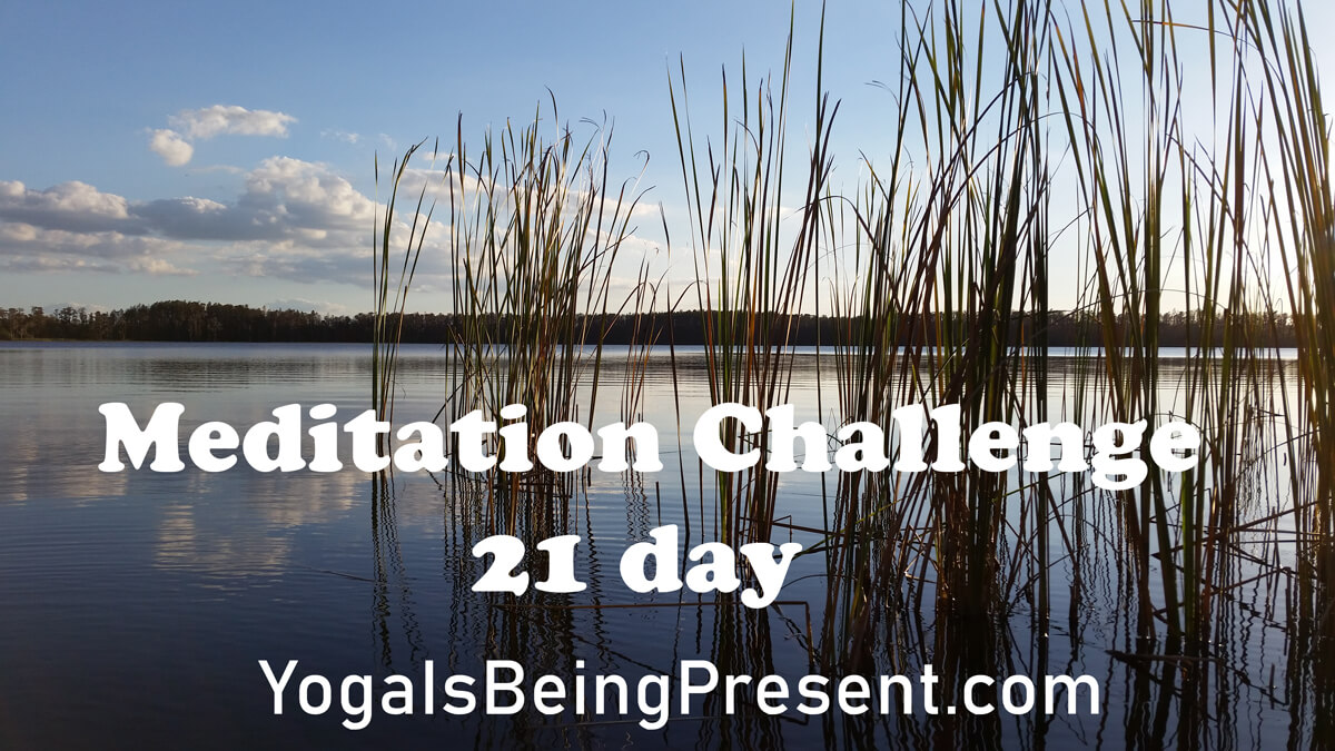 21 day meditation challenge with Ruben Vasquez